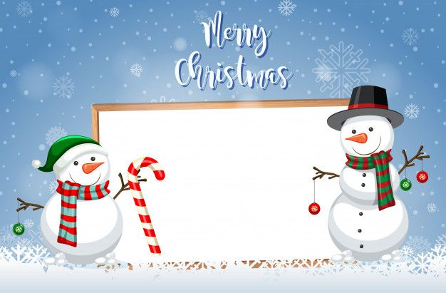 A Christmas Card Template Free Vector Free Vector Freepik Freevector Freefram Christmas Card Template Christmas Card Templates Free Merry Christmas Vector