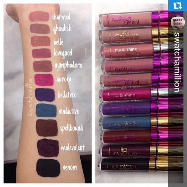 LA Splash Liquid Lipsticks