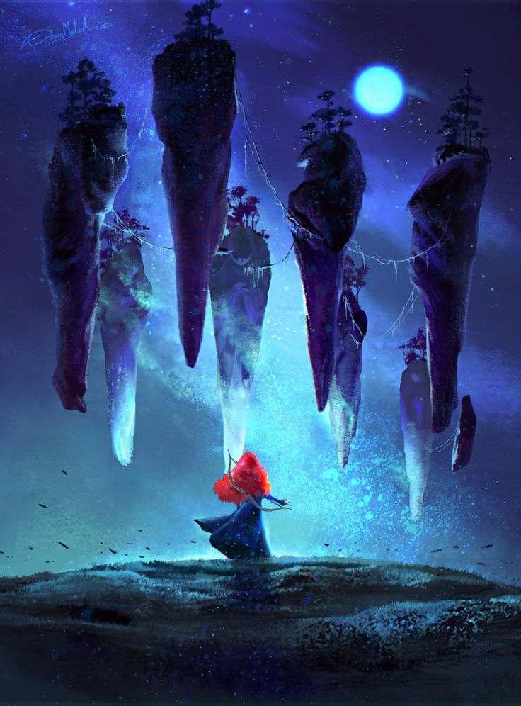 ArtStation - The Mysterious Stones ( Brave ) , DangMyLInh ART