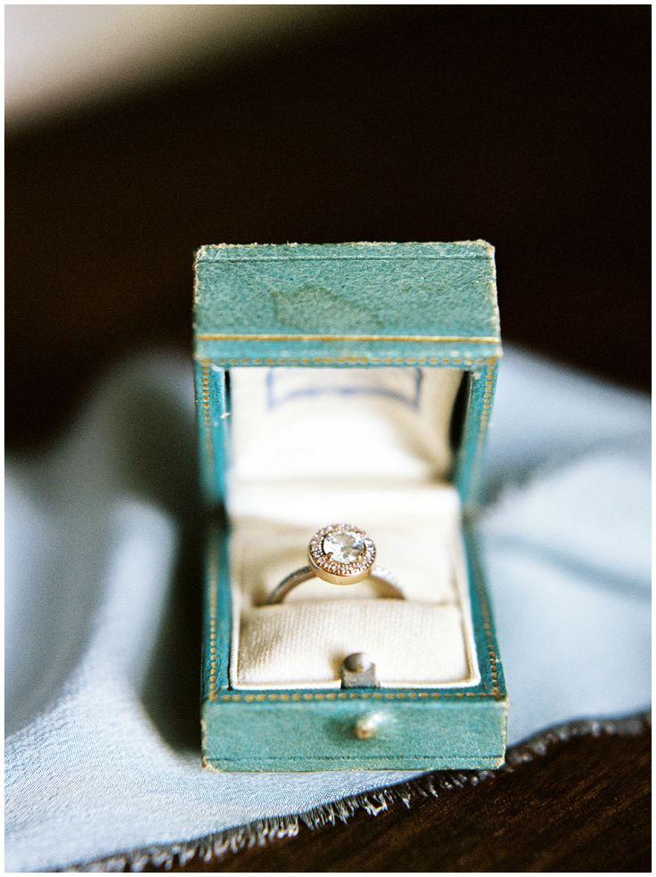 Sun-kissed Lakeside Washington Wedding. Engagement Ring BoxesVintage ... & 550 best Vintage Engagement Rings images on Pinterest   Vintage ... Aboutintivar.Com