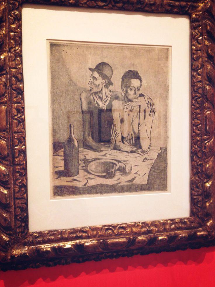 #Picasso Pablo Pasto Frugale #Sorrento #Fondazione agosto 2014