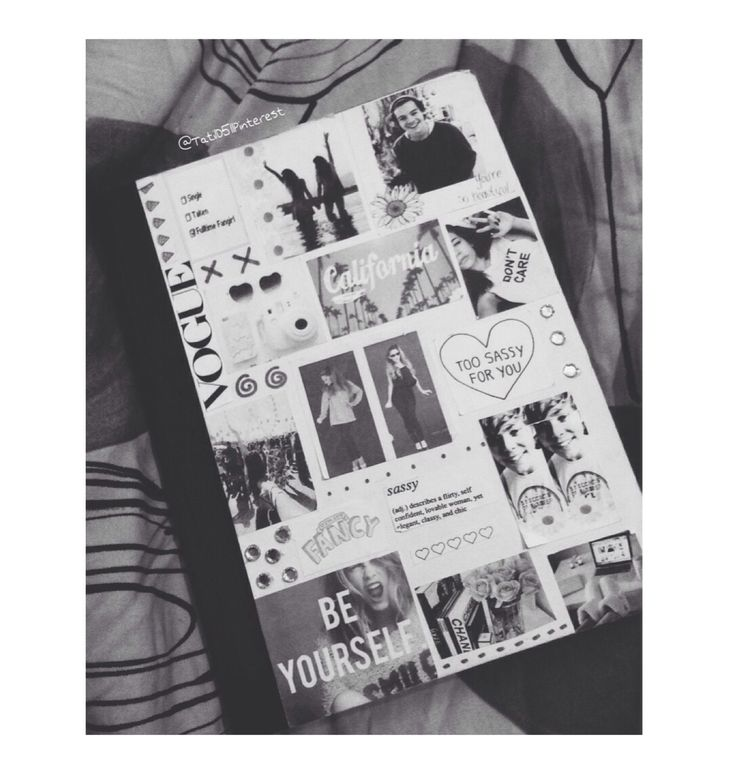 Black dress tumblr notebooks