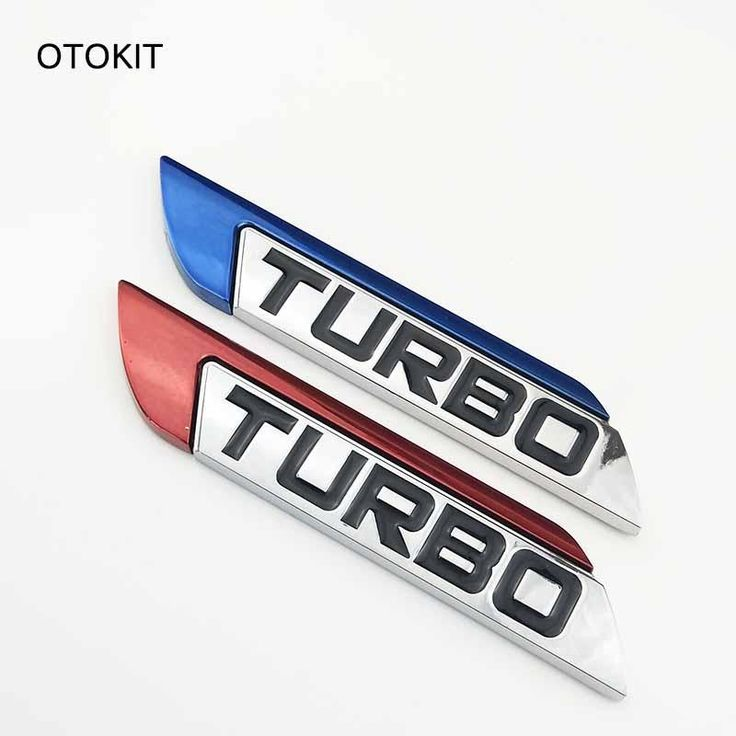 3D Metal Turbo Car Sticker Cover for Focus VW Skoda Peugeot DS Renault Hyundai Chevrolet Benz Toyota High Quality - $8.99