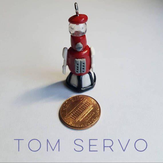 Tiny Tom Servo charm ❤ #MST3K