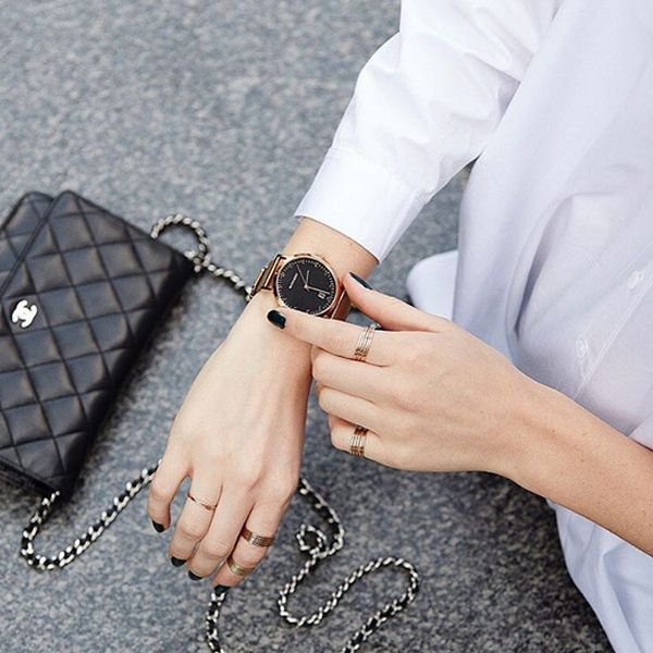 Time check featuring our Witchery Willow Mesh watch via @emmajanementeath
