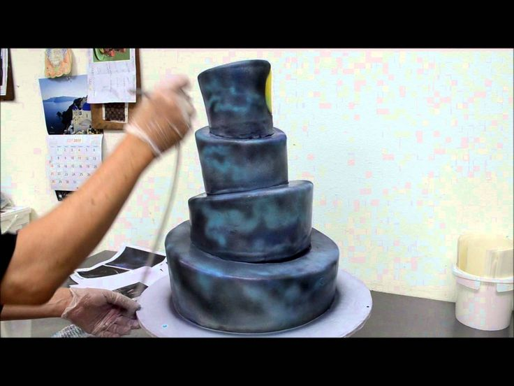 29 best cake how 2 air bursh tutorial images on pinterest for Airbrush for cake decoration