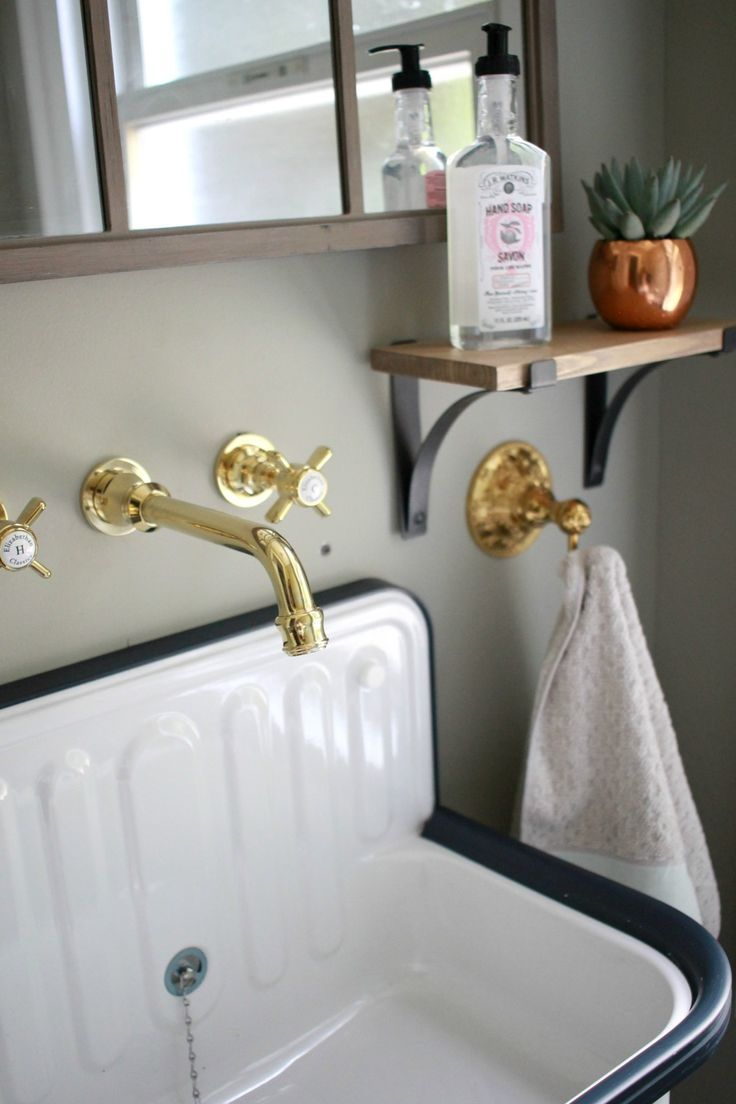 Cibo uber 1200 wall hung vanity from reece - Downstairs Half Bath Before After