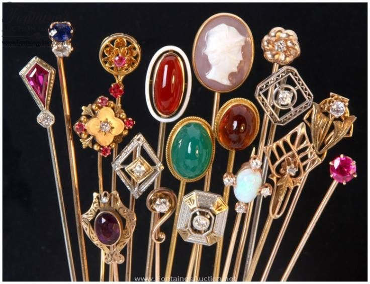 antique hat pins holders