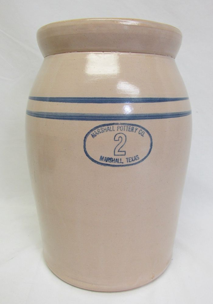 Marshall Pottery Company 2 Gallon Butter Churn Stone ware Crock Marshall Texas & 102 best Marshall Texas images on Pinterest | Midland texas Texas ...