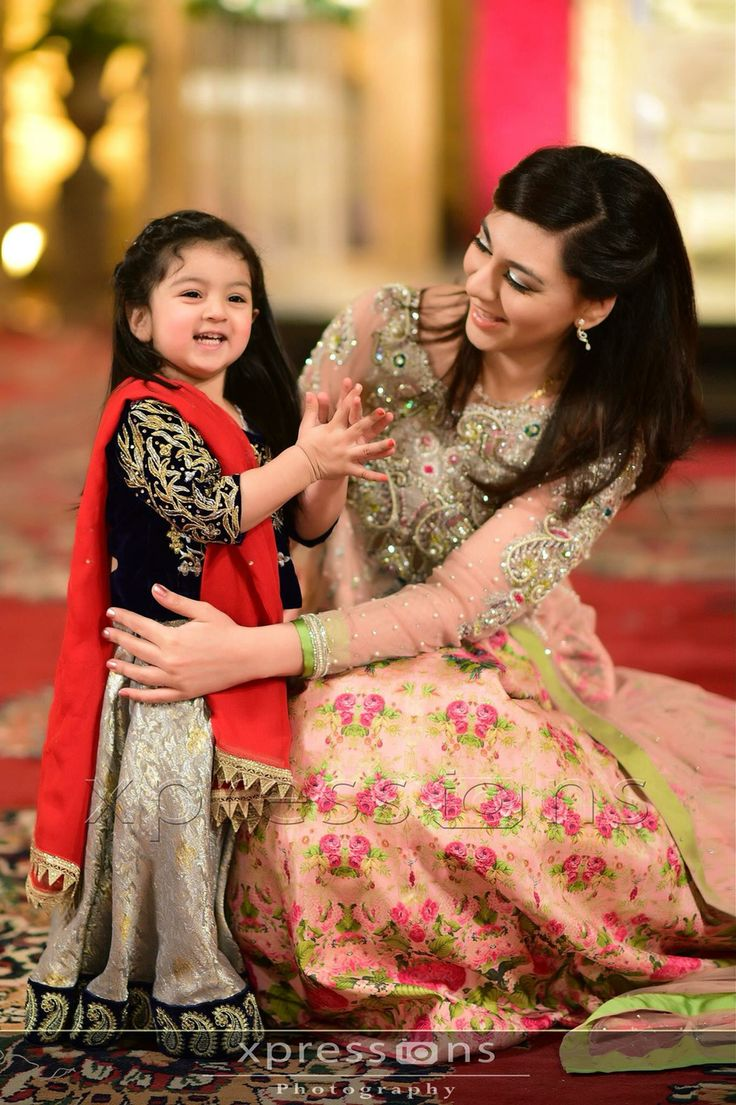So cute! (Pakistani Weddings)