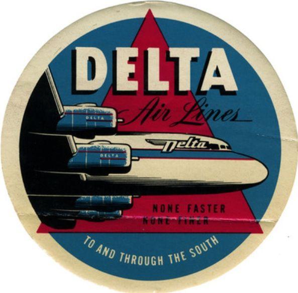 Delta Vintage Logo 1940s
