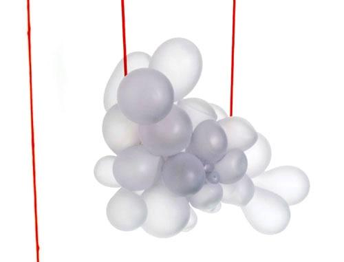 Christoph Zellweger, Necklace, 2012, Glass, Textile.