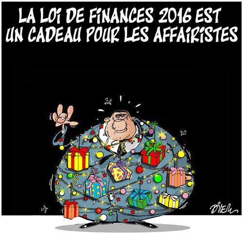 Caricature dilem du 20 décembre 2015 : Toute l'actualité sur liberte-algerie.com