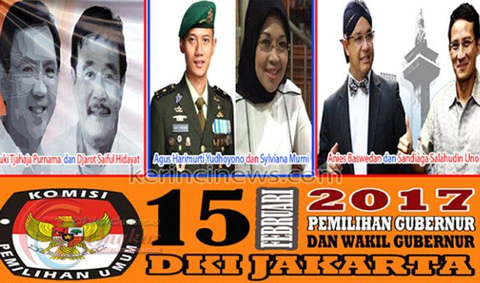 Tiga Paslon Resmi Bertarung Rebut Kepemimpinan Kota Jakarta