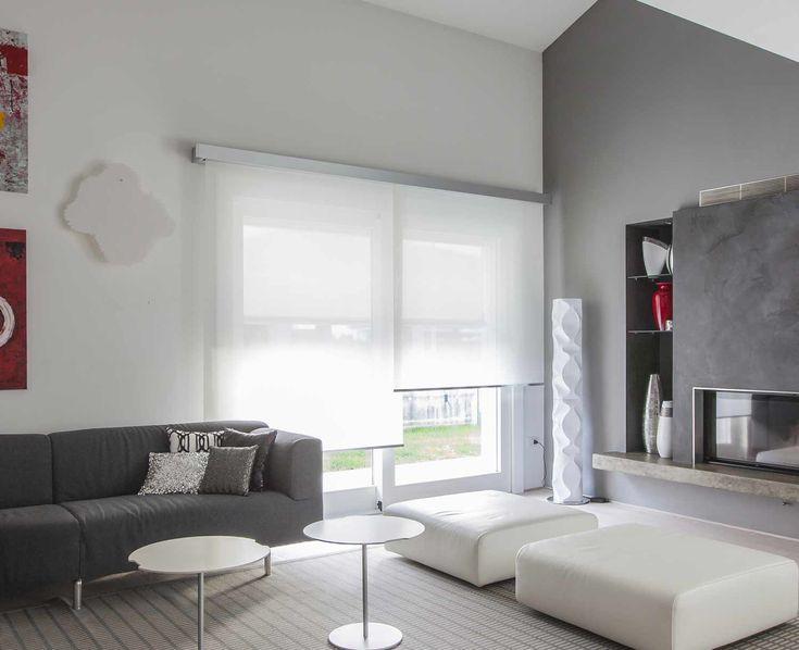 Oltre 25 fantastiche idee su tende a rullo finestra su - Finestra a bovindo ...