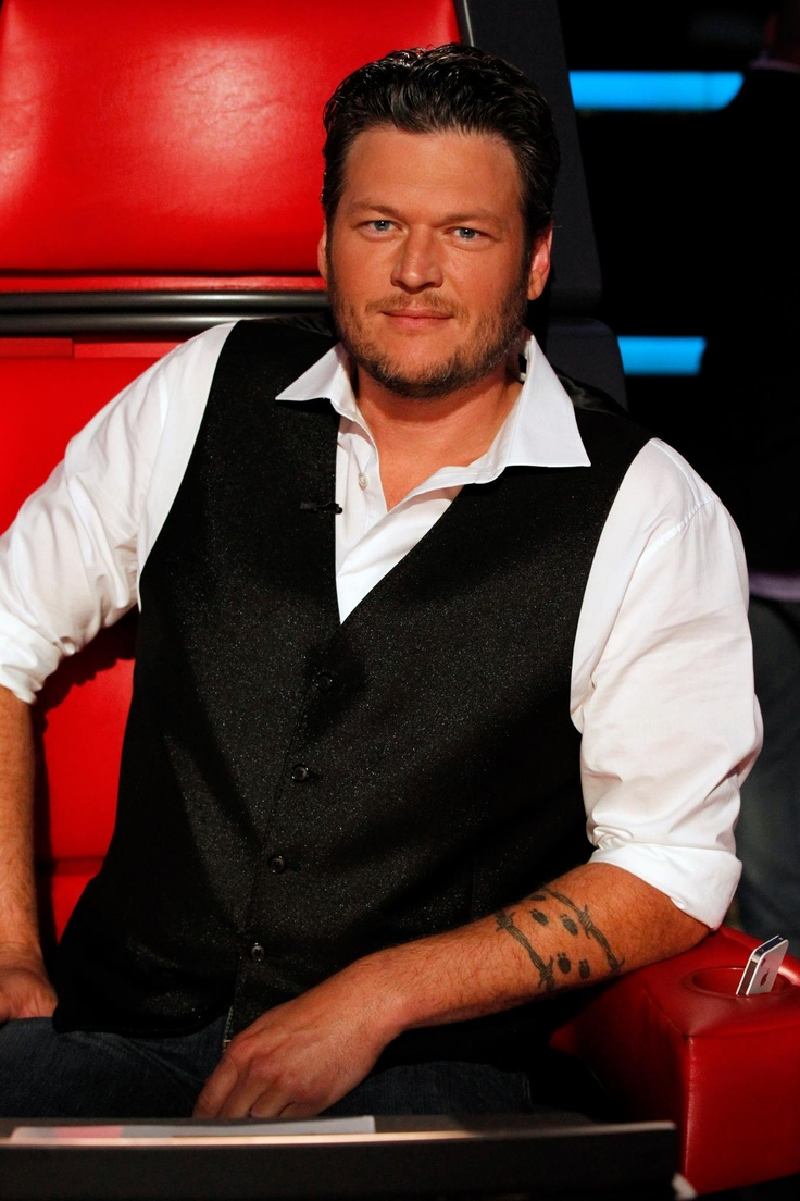 Blake Shelton one of the sexiest men in country music