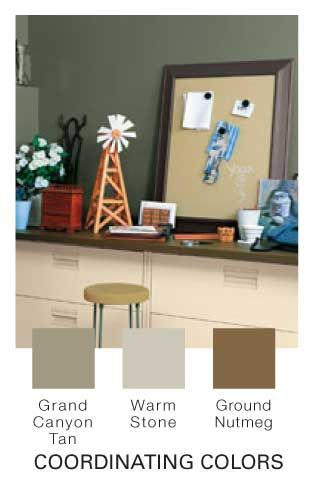 grand canyon tan paint. Love this color for accent wall in ...