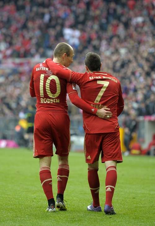 Arjen Robben & Franck Ribéry