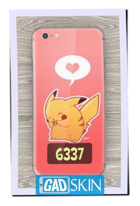 http://ift.tt/2dkCytA - Gambar Pikachu Love Biscuit ini dapat digunakan untuk garskin semua tipe hape yang ada di daftar pola gadskin.