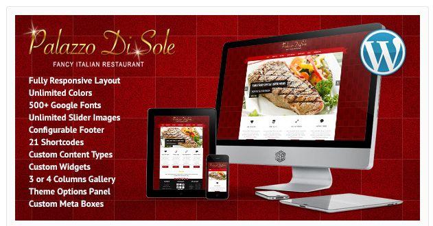 27 Premium Restaurant WordPress Themes