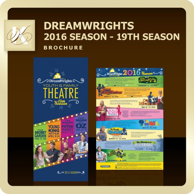DreamWrights 2016 Season  Direct Mail