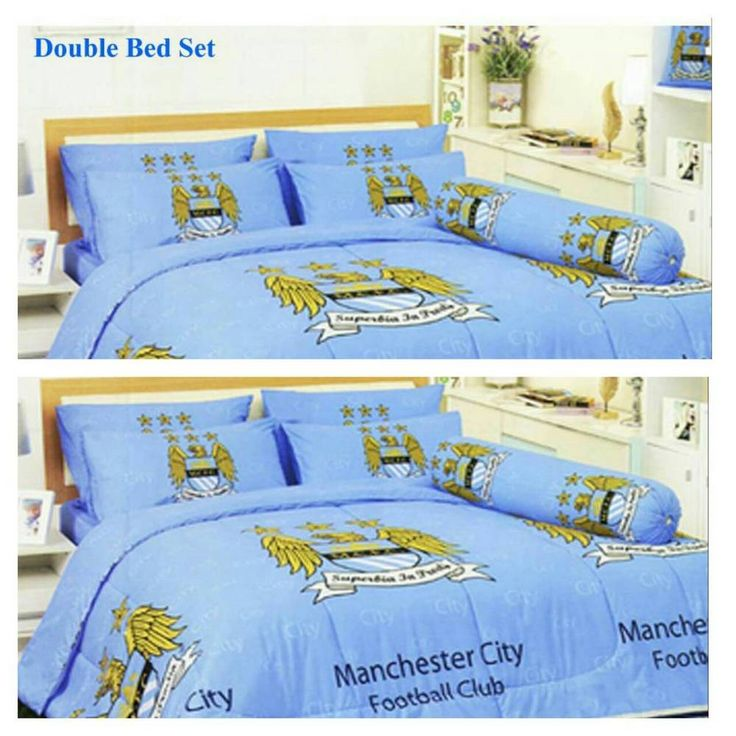 MANCHESTER CITY FC FOOTBALL OFFICIAL 4pcs BEDDING SET  BED SHEET  PILLOW  CASE  TULIP. 17 best Manchester City kids bedroom ideas images on Pinterest