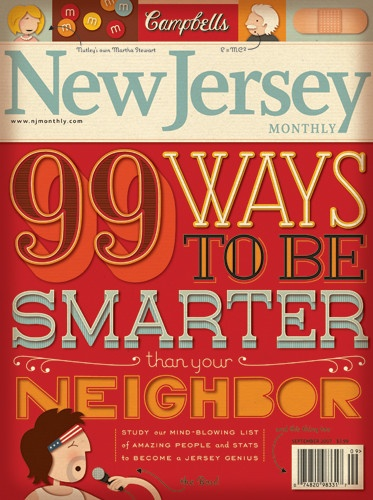 new jersey monthly: Newsletter Layout Design, Jersey Girls, Graphics Design, Awesome Pin, Months Covers, Jersey Months, Jessica Hische, New Jersey, Months Awesome