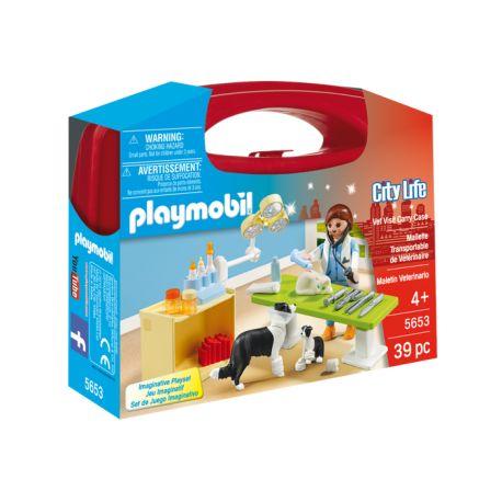 Pięteczek, Piątunio, jak my go uwielbiamy:)    Mamy czerwoną skrzynkę:)     W środku zamknęliśmy Panią weterynarz, psa i szczeniaczka, kota oraz masę akcesoriów medycznych.     Właściwie to zrobił to Playmobil na Malcie i nazwał Zestaw 5653 - Weterynarz.    Dowcipas:)    Wszyscy w czerwonej walizce są bezpieczni:)    Miłego Weekendu:)    http://www.niczchin.pl/playmobil-city-life/3696-playmobil-5653-przenosna-walizka-weterynarz.html    #playmobil #weterynarz #zestaw #zabawki #niczchin…
