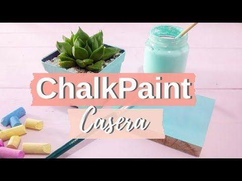 Chalk Paint hecha en casa. DIY