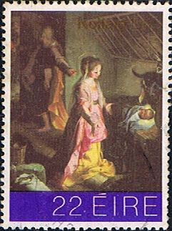 Eire Ireland 1981 Christmas SG 506 Fine Used Scott 511 Other European and British Commonwealth Stamps HERE!