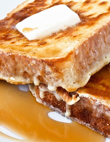 Fulton's Harvest Recipe: Farmer's French Toast  2 cups whole milk 2/3 cup Fulton's Harvest Pumpkin Pie Cream Liqueur 4 eggs 2 tbsps. brown sugar I loaf of dense bread, sliced in at least 12-16 slices 2 to 4 tbsps. butter, as needed  Mix the milk, Fulton's Harvest Pumpkin Pie Cream Liqueur, eggs, and brown sugar together.  Melt butter on a hot griddle or in a pan.  Dip the sliced bread into the batter and allow bread to soak up the batter. Place the battered bread on the griddle and cook ...