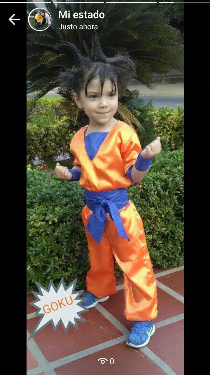 Goku disfraz