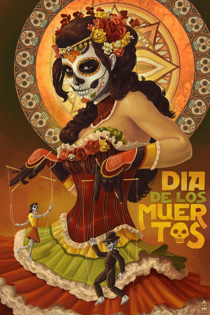 Dia de los Muertos, Day of the Dead, Mexican Art