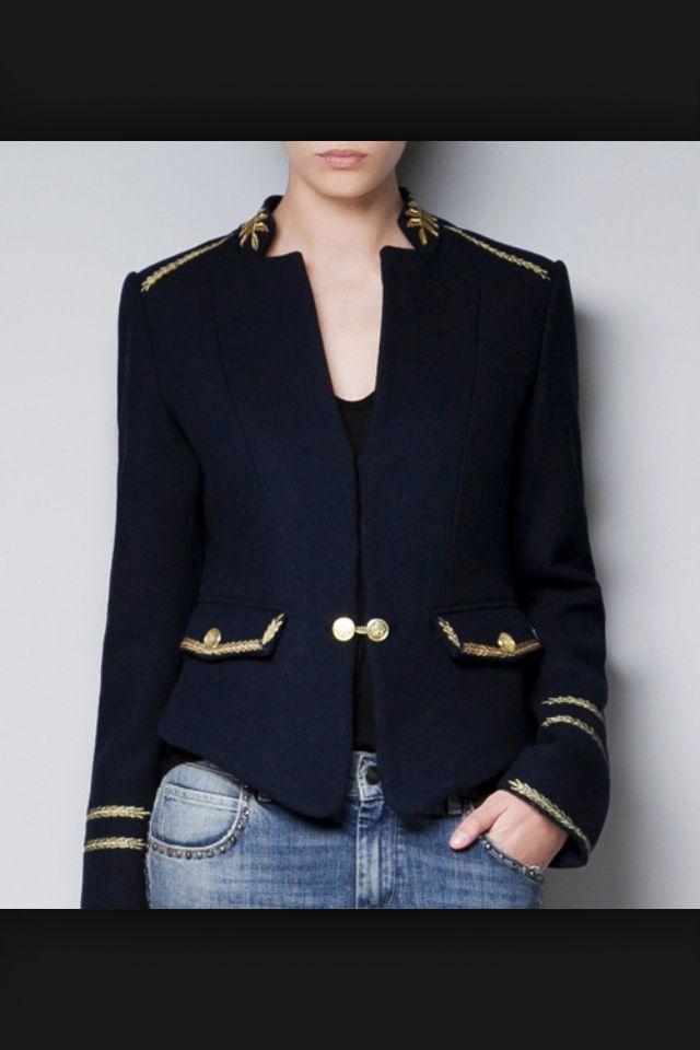 the 25 best veste officier ideas on pinterest veste officier femme veste militaire femme and. Black Bedroom Furniture Sets. Home Design Ideas