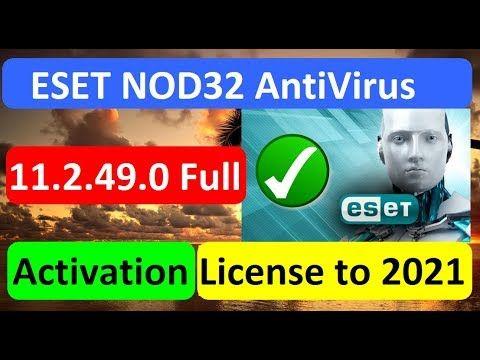 eset nod32 internet security 11 license key 2019