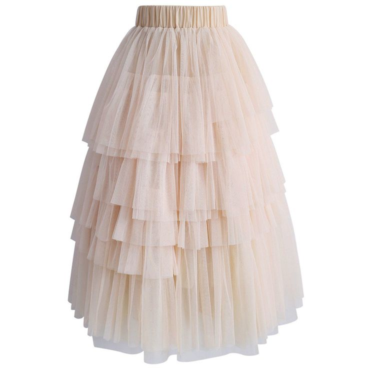 Ultra Layered Tulle Skirt In 2020