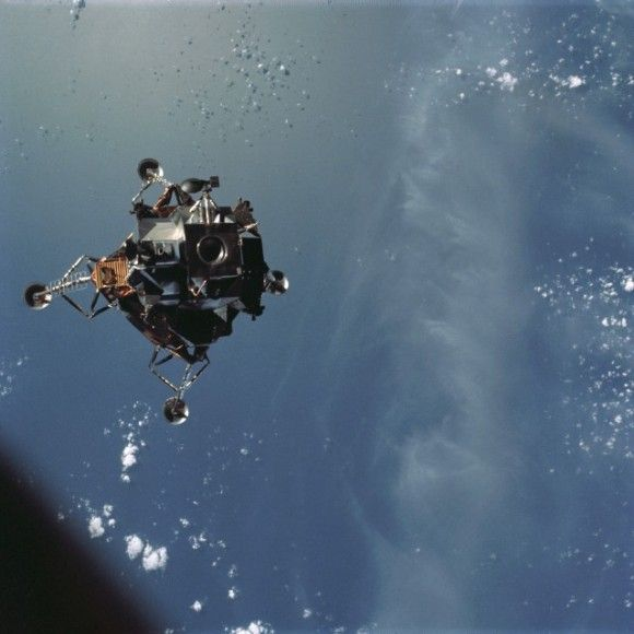 Relive Apollo 9′s Moon Lander Test 45 Years Ago Through Incredible NASA Images
