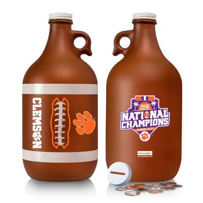 Clemson Tigers College Football Playoff 2016 National Champions 64oz. Tactile Coin Bank
