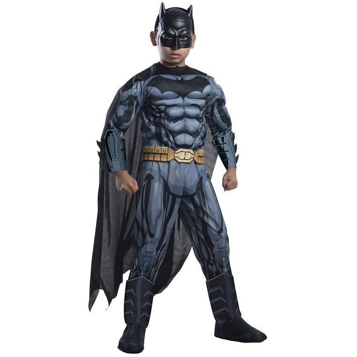 Batman Costume - Kids, Boy's, Size: Medium, Multicolor