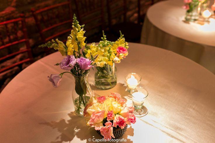 Decoração de casamento do velas - por Nita Rocha