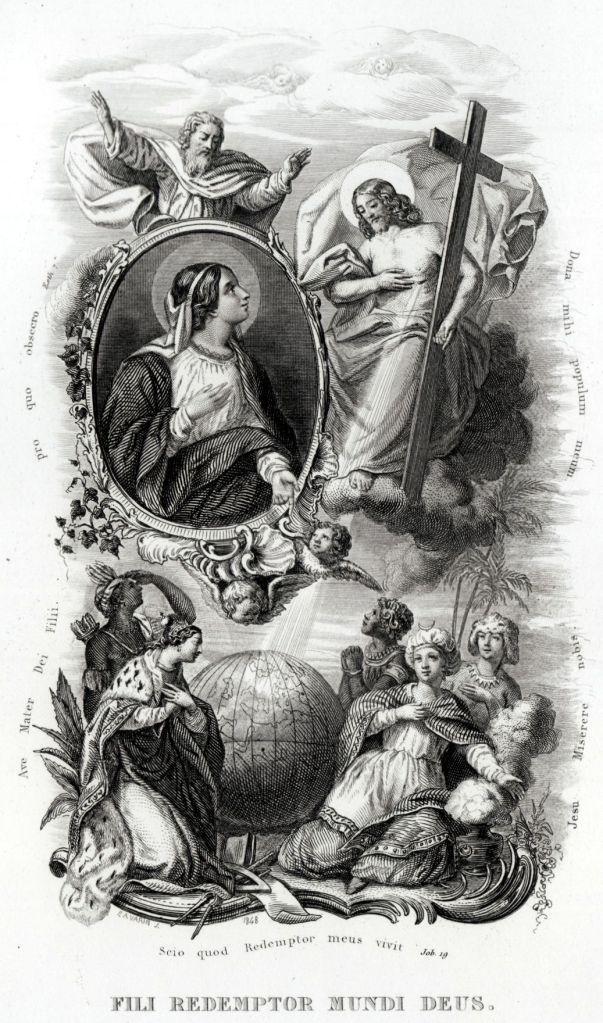 7 Litanie Lauretane SS Vergine Maria Madonna Religione Acciaio Capolavoro 1850 | eBay
