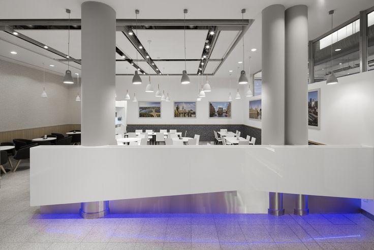 Projekt i realizacja strefy wejsciowej Bauer Media