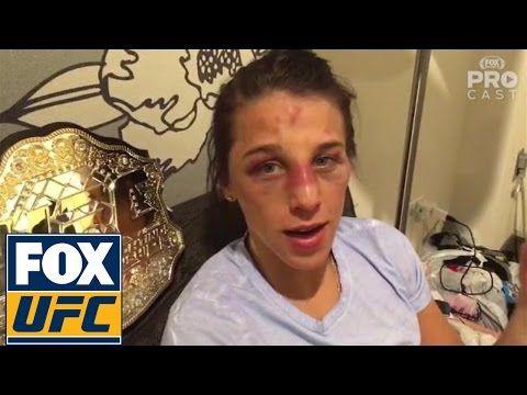 Joanna Jędrzejczyk checks in after UFC 205 fight vs Karolina Kowalkiewicz.