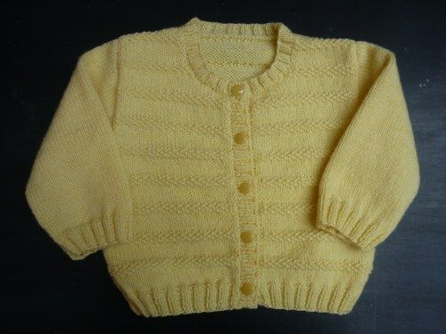 Cardigan tricote main.