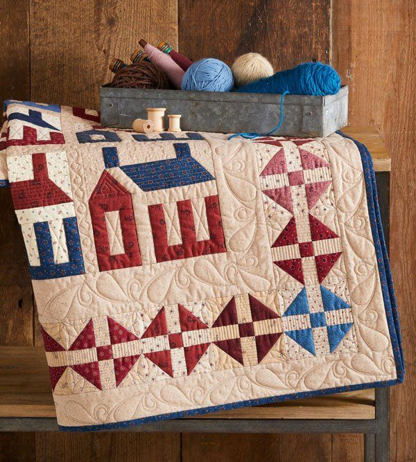 Americana Home House Quilt Patterns Quilt Patterns