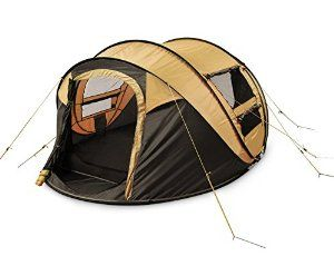 EASY AND STRESS FREE SETUP- Remove your instant, free-standing tent from the packaging and watch it pop up automatically (no more fumbling with tent poles)! The tent comes in a portable carrying bag so you can easily fold up, pack in, and jet!