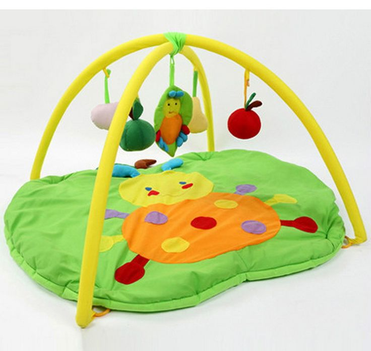 Newborn Baby Play Mat Game Tapete Infantil Kids Educational Crawling Apple Play Mats Gym Blanket Puzzles Carpet Puzzle Toys #Affiliate