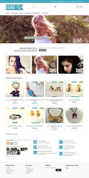 Somos de Colores #Websites #Idealistica #ebranding