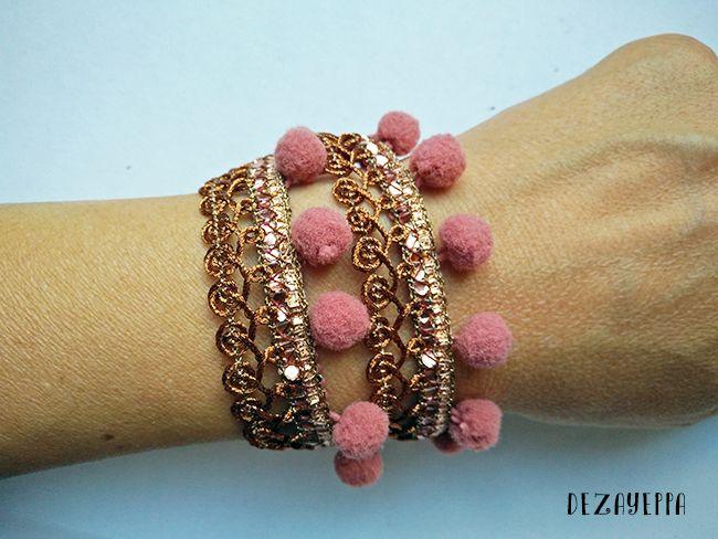 bracciali EtnoPop DezaYeppa EtnoPop bracelets  #bracelets #bracciali #braccialetti #gioielli #etnopop #etnico #estate #summer #pompom #pompon #tassel #frange
