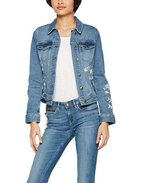 s oliver damen jeansjacke 14 802 51 4514 blau blue denim